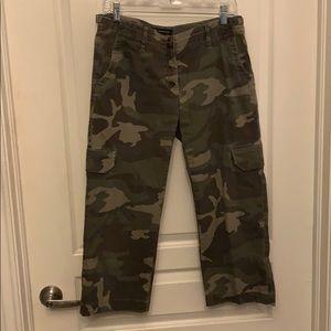 INC Cropped Camo Pants